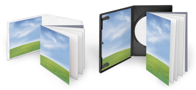 personal printed cd-dvd-booklets and sleeves