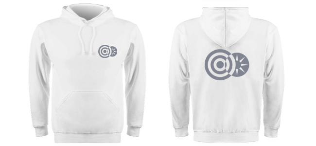 personalised hoodies printed on one or two sides