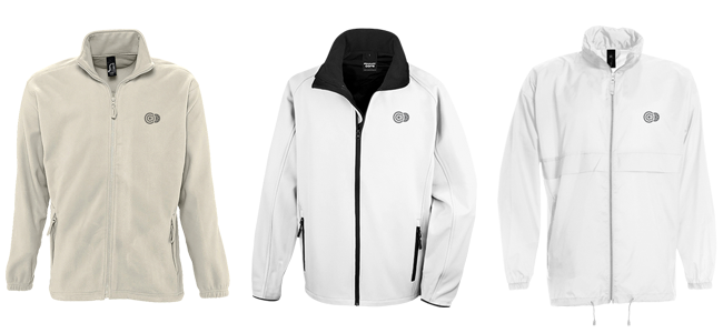 personalised embroidered or printed jackets
