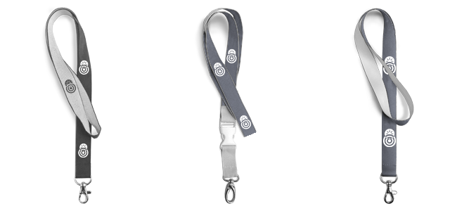 Printed or woven lanyards and key rings are popular advertising materials