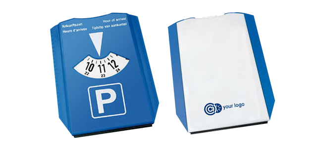 parking discs promotional printing