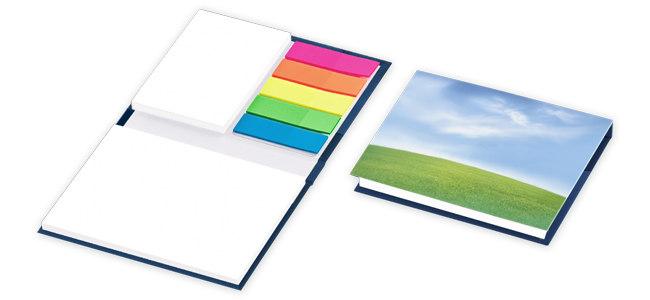 sticky note sets custom folder design and printing