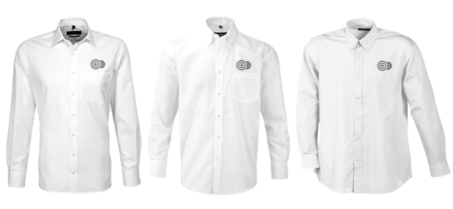 Embroider personalised shirts customised embroidery with your logo or the names of your employees
