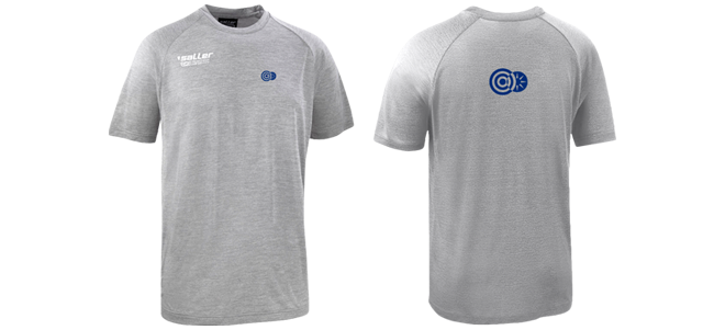 running t-shirts working out at the gym personalised printed