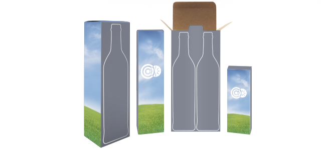 wine bottle boxes custom design and printing