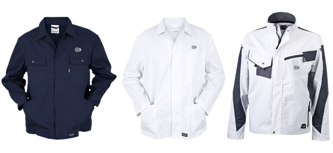 work jackets Hard work demands reliable clothing fabrics printed or embroidered