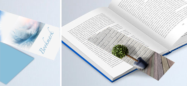 book page bookmarks personalised printed designs book with bookmark on