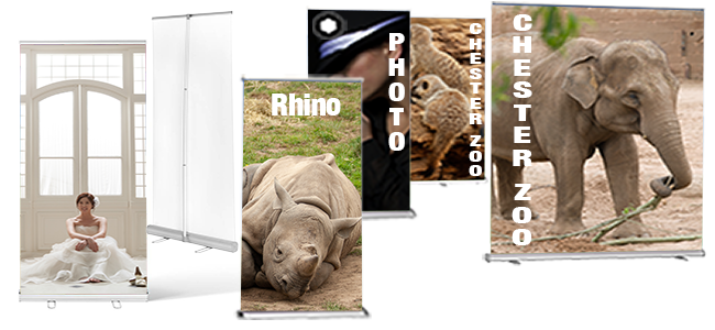 roller banners printers of personal and business custom design printing different sizes heavy duty quality