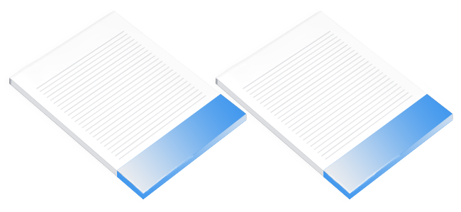 personal and company designed memo pads printing
